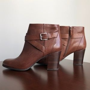 Brown Cole Haan Booties